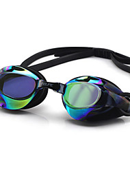 FEIUPE Swimming Goggles Women's / Men's / Unisex Anti-Fog / Waterproof / Adjustable Size / Anti-UV / Polarized Lense Silica Gel PCWhite /