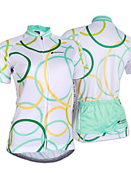 NUCKILY Bike/Cycling Jersey / Tops Women's Short SleeveBreathable / Ultraviolet Resistant / Moisture Permeability / Water Bottle Pocket /