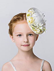 Flower Girl's Fabric / Net Headpiece - Wedding / Special Occasion / Outdoor Hats