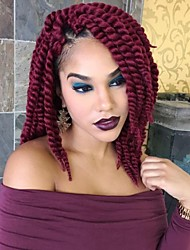 12Inch BUG Afro Marly Curly Synthetic Kanekalon Fiber Hair Havana Twist Hair Extesnion Crochet Braids