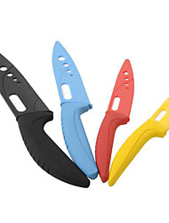 "Kitchen Ceramic Knife Set/ 3""Yellow+4""Red+5""Blue+6""Black"