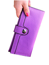 2016 New Money Clip Wallet Women Opening Way Is Hasp Lock Lining Material Is Synthetic Leather JFS0322037