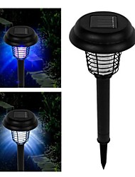 Solar Led Uv Lamp Light Bug Zapper Pest Insect Mosquito Killer for Garden Yard
