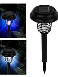 solaire conduit uv bug lampe lumière zapper insectes ravageurs tueur de moustiques pour le jardin cour