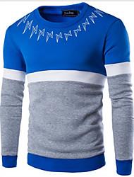 Men's Long Sleeve Hoodie & Sweatshirt , Cotton Print