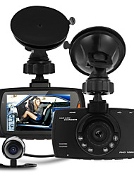 "Full Hd 1080P 2.7"" Dash Cam Car Dvr Video Camera Recorder Dual Camera Crash Cam"