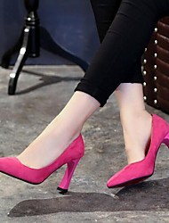 Women's Shoes OL Style Fashion Temperament Pump Chunky Heel Comfort / Pointed Toe Heels Party & Evening / Dress