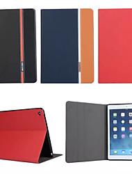 mode rétro en cuir de luxe rabat portefeuille support pour Apple iPad air 2/6