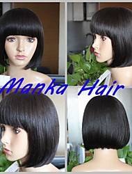 New Popular Hair Wig Machine Made Bobo Hair Wig For Women/Gril