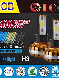 liancheng® 60w 6400lm 9 ~ 32V hohe Helligkeit cob für Auto-Scheinwerfer-Kit-h3 führte, Off-Road, utv, atv
