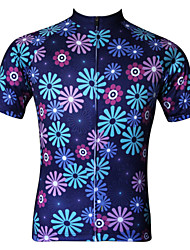JESOCYCLING Cycling Jersey Women's Short Sleeve Bike Jersey TopsQuick Dry Ultraviolet Resistant Antistatic Breathable Lightweight