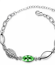 Hot New Charming Lovely Simple Bling Elegant Leaves Bracelet Bangle Party Jewelry For Women