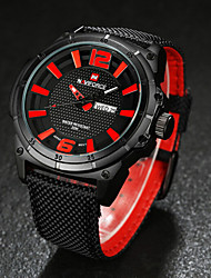 Men NAVIFORCE watch Quartz Waterproof Sports Watch Calendar Genuine Fabric Wristwatch (Assorted Color) Wrist Watch Cool Watch Unique Watch