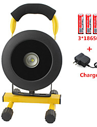 Lights LED Flashlights/Torch / Headlamps LED 1200 lumens Lumens 3 Mode Cree XM-L2 18650Rechargeable / Emergency / Night Vision / High