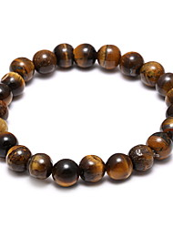 Fashion Nature Tiger Eye Hand String Retro Bracelet Christmas Gifts