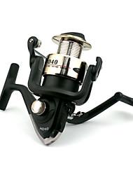 5BB Spinning Reels Gear Ratio 5.2:1 Spinning Fishing Reel PHD40 Random Colors