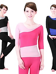 Yoga Suit Sports Causal Running Clothing Fitness Clothes Yoga Wear Sports Suits Gear Suits = Half Sleeve Top + Trousers