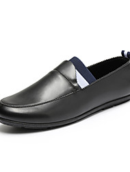 Men's Shoes Office & Career / Casual Loafers Black / White / Orange
