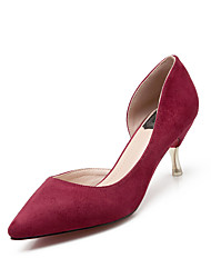Women's Shoes Pointed Toe Fleece Stiletto Heels/Pumps Office/ Party Shoes More Colors Available