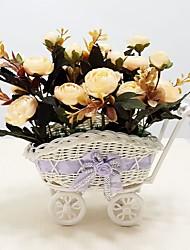Soie / Plastique Camellia Fleurs artificielles