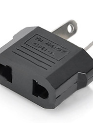 US / EU Plug to Compact Australia Travel Plug Adapter - Black