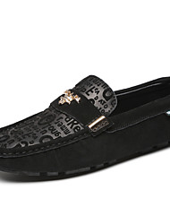 Men's Boat Shoes Casual/Drive/Office & Career/Party & Evening Fashion Nappa Leather Slip-on Shoes