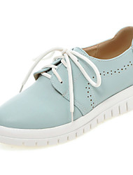 Women's Shoes  Low Heel Platform / Round Toe Athletic Shoes Outdoor / Athletic / Casual Blue / Pink / White