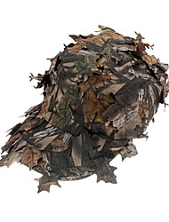 LS1630 Outdoor Bionic Disguised Cap Camouflage Hunter Hat Sniper Hidden Jungle Pretend Hat