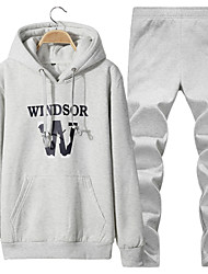 Spring and autumn hooded men hoodies youth sport suit fashion jacket spring students loose clothes