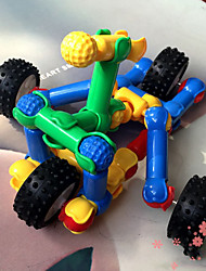 transférable construction automobile kit de construction de blocs jouets de bricolage (115pcs)