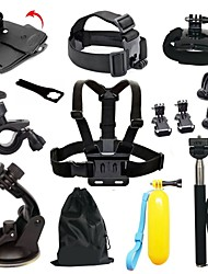 Chest Harness Front Mounting Anti-Fog Insert Monopod Tripod Case/Bags Buoy Suction Cup Adhesive Mounts Straps Hand Straps Hand