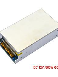 Jiawen AC110V / 220v до 12 В постоянного тока 50а 600w трансформатор импульсный источник питания