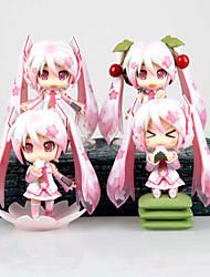 Vocaloid Hatsune Miku PVC Las figuras de acción del anime Juegos de construcción muñeca de juguete