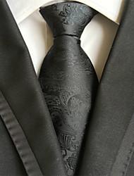 Corbata ( Negro , Poliéster )- Diseño