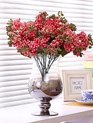 Dark Pink Baby Breath Flowers Silk Flower Silk Artificial Flowers for Home Decoration 1pc/set