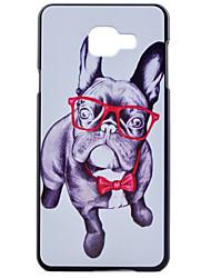 Для Кейс для  Samsung Galaxy С узором Кейс для Задняя крышка Кейс для С собакой PC Samsung A7(2016) / A5(2016) / A3(2016) / A7 / A5 / A3