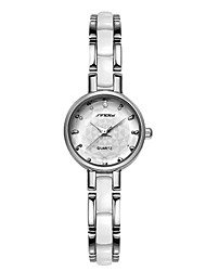 Women's Watch Luxury Brand Bracelet Strap Quartz Watch Top Quality Waterproof Sliver Woman Dress Wristwatches Cool Watches Unique Watches