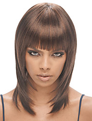 Prevailing Charming Long Synthetic Wigs For Medium Brown Blonde Wig Kanekalon African American women Wigs