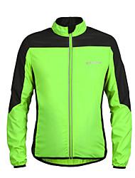 Cycling Windbreakers / Jacket / Jerseys Unisex Bike Breathable / Quick Dry / Windproof / Back Pocket / Reflective Strips Long Sleeve