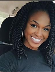 "Más vendidos productos para el cabello x-tress linda ganchillo Habana Mambo tuerce 14 ""# 1 negro Kanekalon sintético Habana trenzas de"