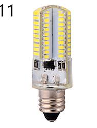 1 kpl YWXLIGHT E11 / E12 / E17 6W 80 SMD 3014 540 LM Lämmin valkoinen / Kylmä valkoinen T Himmennettävä / Koristeltu LED-maissilamputAC