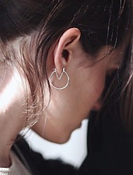 Boucles d'oreille goutte Alliage Simple Style Style Punk Argent Doré Bijoux Soirée Quotidien Décontracté 2pcs