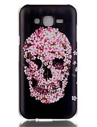Für Samsung Galaxy Hülle Muster Hülle Rückseitenabdeckung Hülle Totenkopf PC Samsung J7 / J5 (2016) / J5 / J1