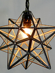 30CM Tiffany The Pentagon Star Light Contracted And Contemporary Chandelier Lamp LED