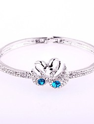 Hot New Charming Lovely Simple Bling Elegant Swan Bracelet Bangle Party Jewelry For Women