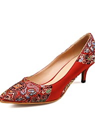 Women's Wedding Shoes Heels Heels Wedding / Party & Evening / Dress Red