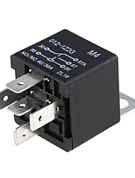 5 X 12 Volt Dc Spdt Relay 5 Pin Alarm Audio Installation 40 Amp 30/40A