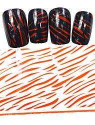 Мультипликация / Милый - Фольга зачистки ленты - Пальцы рук / Пальцы ног - 100cmx4cm - 5PCS - Прочее