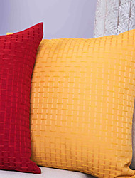 Polyester Pillow Cover , Bricks Modern
