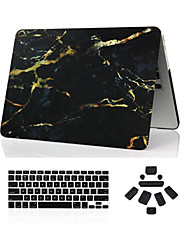 "Case for Macbook Pro 13.3""/15.4"" Marble ABS Material 3 in 1 Marble Full Body Case + Keyboard Cover + Dust Plug"